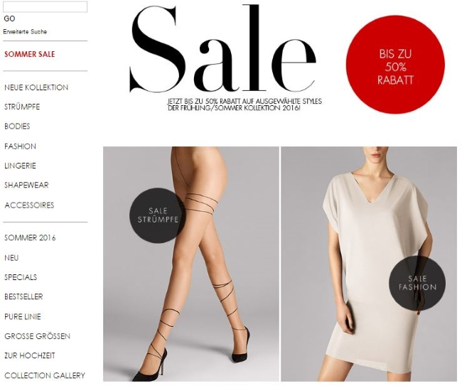 Wolford Onlineshop