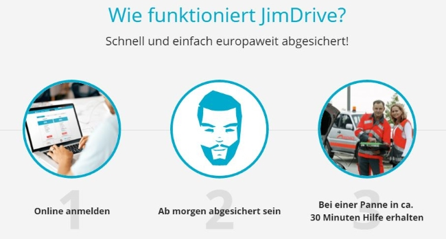 JimDrive - so funktionierts