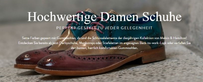 Melvin and Hamilton Damenschuhe
