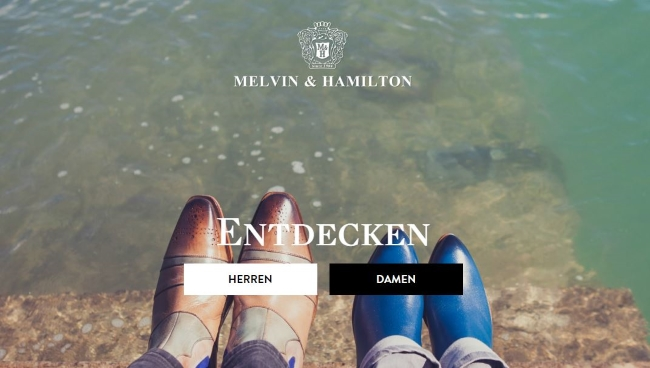 Melvin and Hamilton Onlinestore