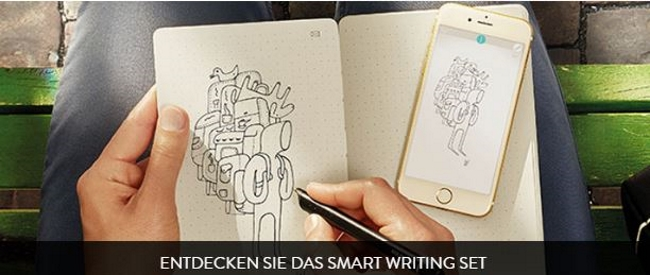 Moleskine Smart Wrinting Set
