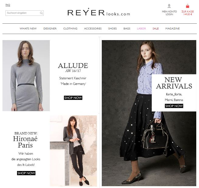 REYERlooks Onlineshop