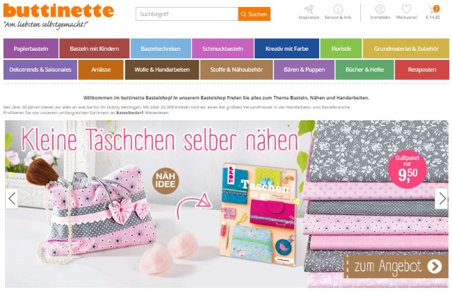 buttinette-onlinestore