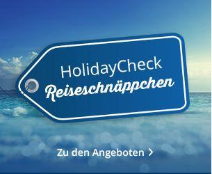 HolidayCheck Reiseschnäppchen