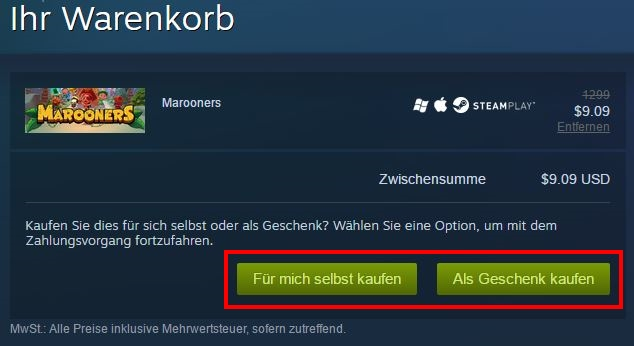 steam-warenkorb