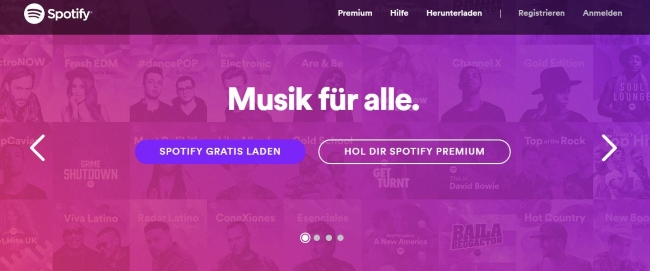 spotify-onlineshop