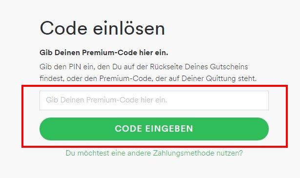 spotify-premium-code-einloesen