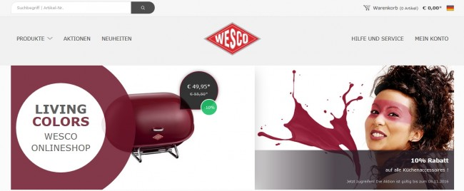 wesco-onlineshop