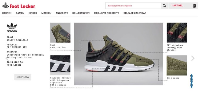 Foot Locker Onlineshop