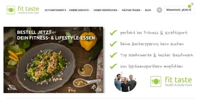 fittaste Onlineshop
