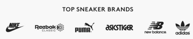 Caliroots Top Sneaker Brands
