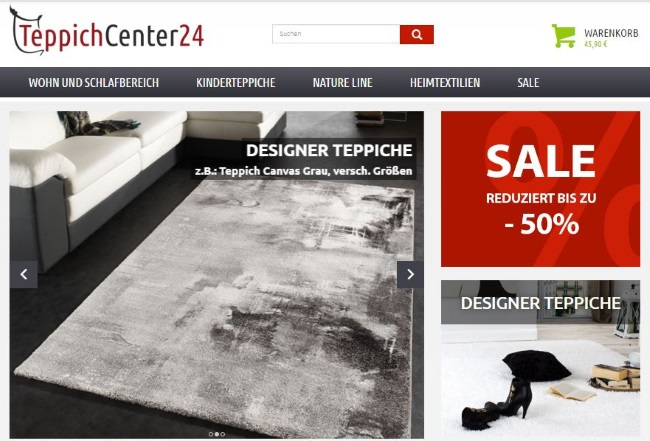 Teppichcenter24-onlineshop
