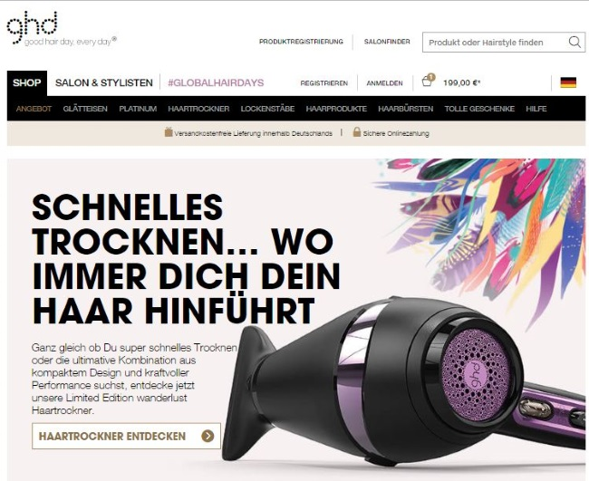 ghd-onlineshop