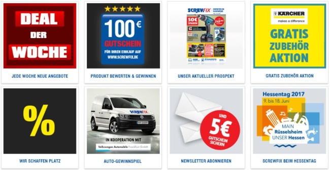 Screwfix Aktionen