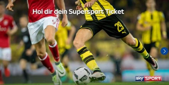 Sky Ticket Fußball