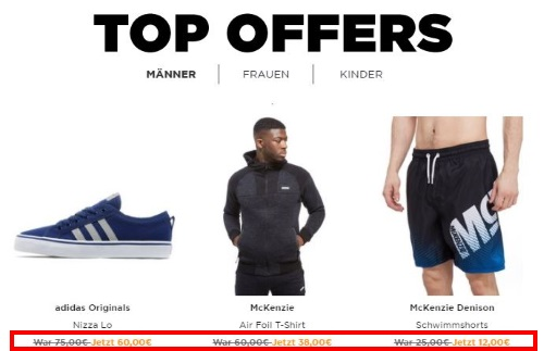 JD Sports Angebote