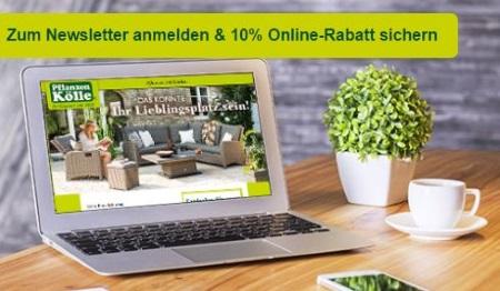 Pflanzen Kölle Gutschein Newsletter