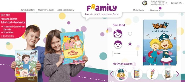 framily Onlineshop