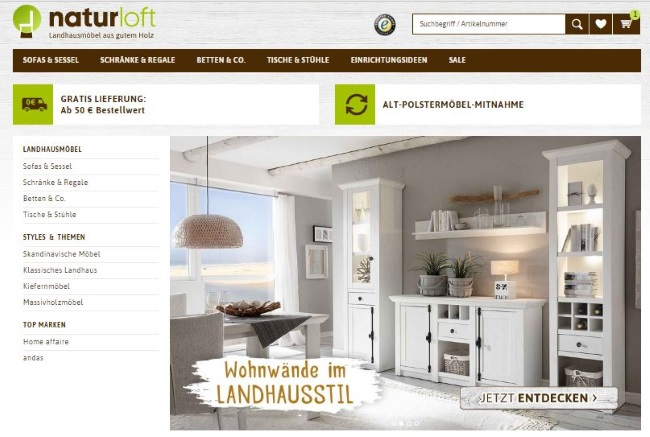 naturloft Onlineshop